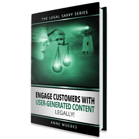 Engage customers with user generated content legally